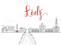 Łódź /Cityscape series