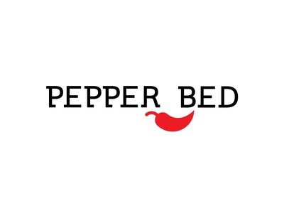Pepperbed red pillow hot bedding bed pepper