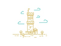 Tower illustration