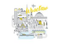 Polish cities serie// Wrocław