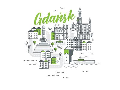 Polish cities serie// Gdansk neptun ship westerplatte danzig gdansk gdańsk baltic waves marine sea cityscape