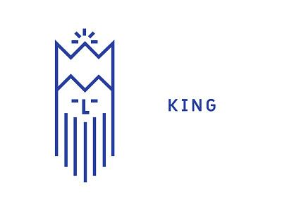 King icon kingdom monarchy old beard crown icon royal king