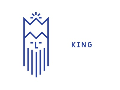 King icon kingdom monarchy old beard crown icon royal king