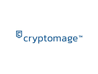 Cryptomage / Cybersecurity solutions blue letter c technology security cybersecurity shield