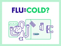 Flu or cold?