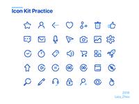 blue Icon Kit