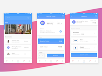 ticket booking application