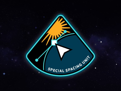 Special Spacing Unit Mission Patch cyberspace building crew mission patch