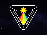 Cyberspace Building Crew Mission Patch