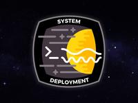 System Deployment Mission Patch