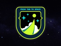 From Tab To Space Mission Patch