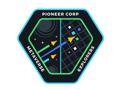 VR/AR Mission Patch cyberspace building crew mission patch