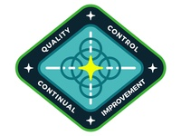 Quality Mission Patch