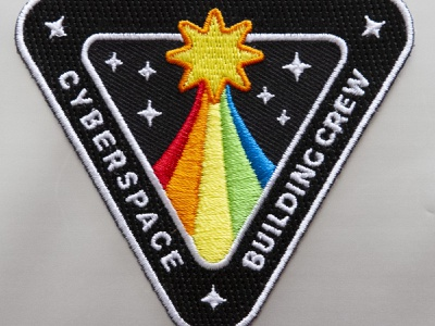 Cyberspace Building Crew patch nasa mission cyberspace building crew