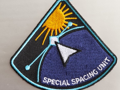 Special Spacing Unit nasa patch mission cyberspace building crew