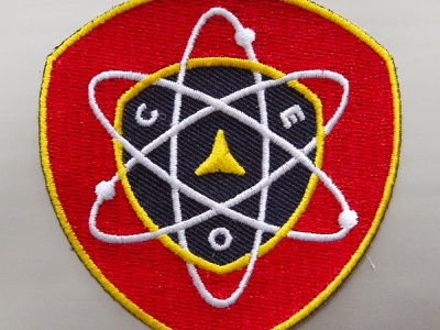 CEO Patch nasa patch mission cyberspace building crew