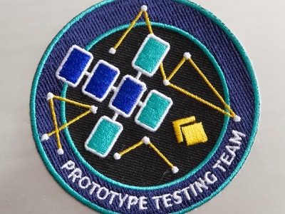 UX Patch nasa patch mission cyberspace building crew