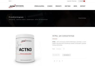 GNS web development web design e-commerce
