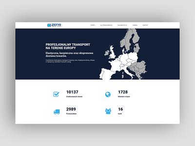 Zefir-Trans Website clean minimal wordpress web development web design