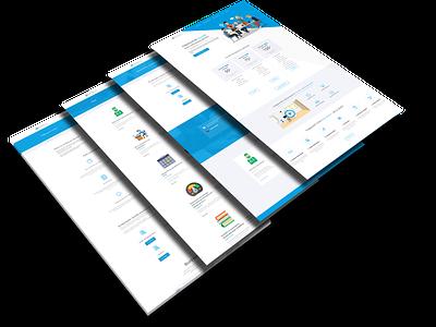 KPIR50 website design website wordpress material icons flatdesign