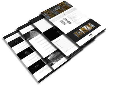 Audiovisual Art gold luxury loudspeakers wordpress webdesign