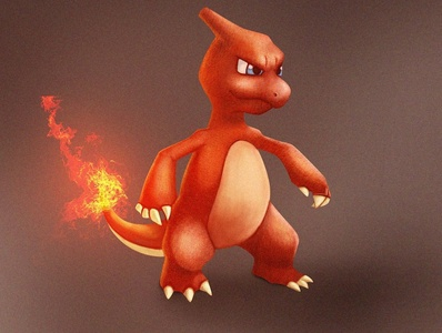 charmeleon illustration art ! digitalart pokeball cartoon character illustration art illustration pokemon