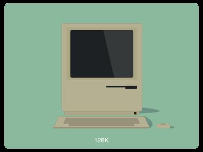 History of Mac #1 web illustration design