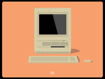 History of Mac #3 web illustration design