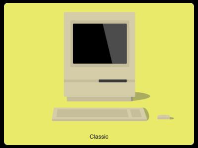 History of Mac #4 web illustration design