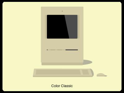 History of Mac #5 web illustration design