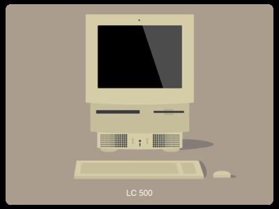 History of Mac #6 web illustration design