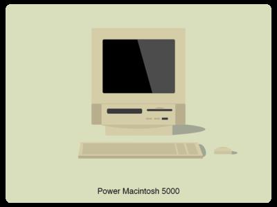 History of Mac #7 web illustration design