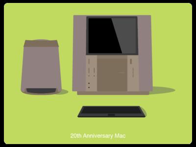 History of Mac #8 web illustration design
