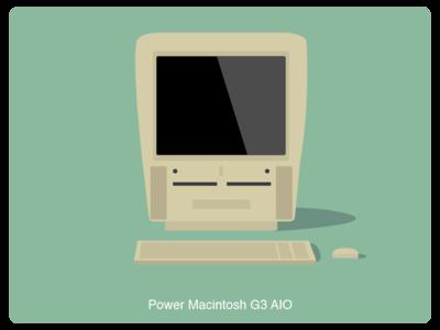 History of Mac #9 web illustration design