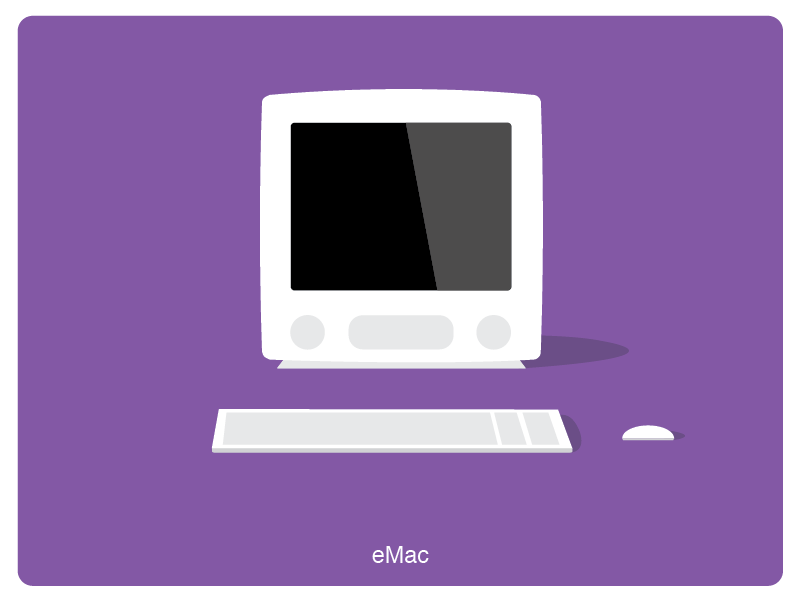 History of Mac #12 animation web illustration design