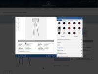 Furniture customizer - E-commerce