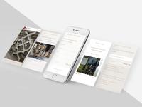 E-commerce shop - Landing page