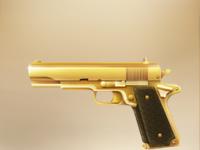 Gold colt 1911