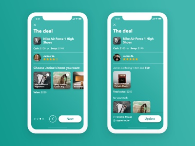 The Deals View mobile ui mobile app app ios app concept concept interface design uidesign deals deal