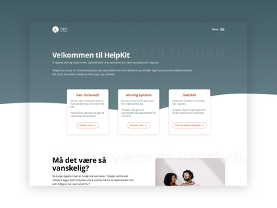 HelpKit by Mecu — Website rwd website startup norwergian norway