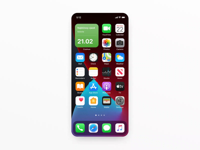 Cosinus — iOS 14 Widgets ios14 widgets widget interface mobile ui mobile animation