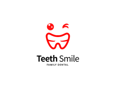 Teeth Smile playful tooth flat funny children healthcare smile dental