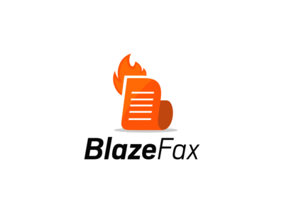 Blazefax simple flat communication fire mail message text fax