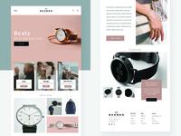 Skagen New Concept Web Design
