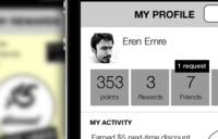 iPhone app wireframes