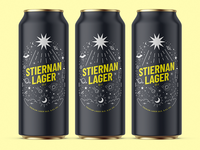 Concept - Stiernan Lager beer can