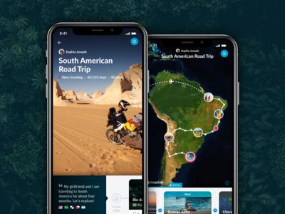 Polarsteps - Press Material iphone travel live app