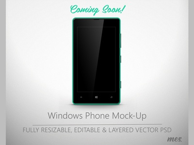 Lumia 820 Mock-Up