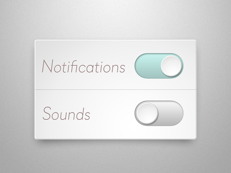 You switch me switch app iphone navigation ui ios settings button interface psd freebie