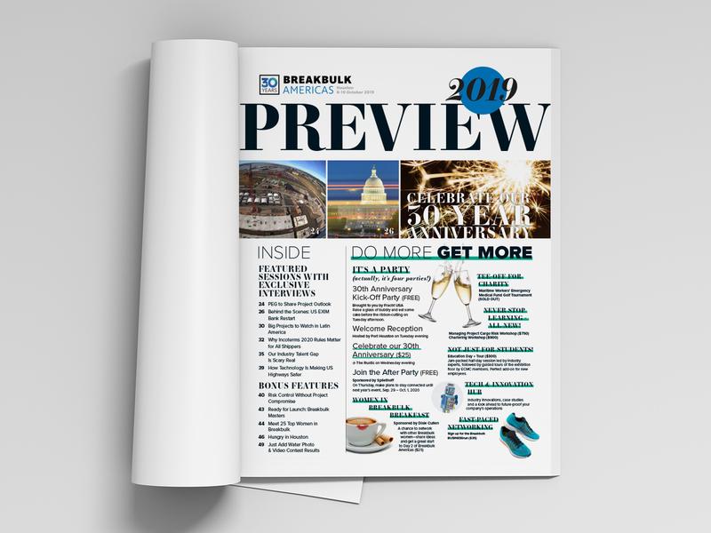 Table of Contents   Breakbulk Magazine
